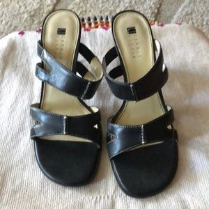 Carole Little Leather Upper Shoes Size 8